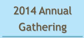 2014 Annual Gathering