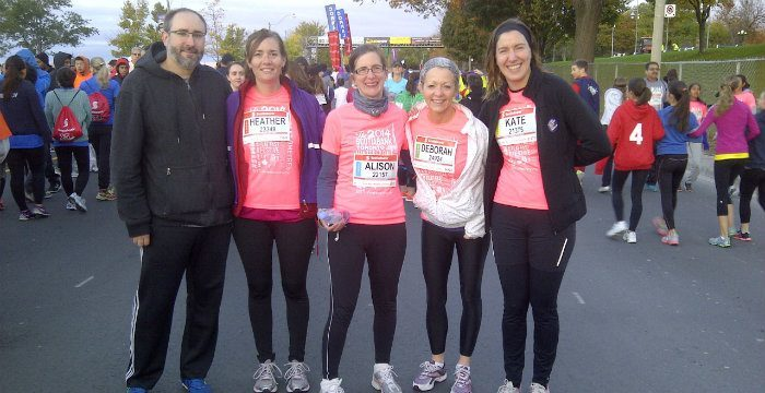 Thanks to the runners and supporters of OLTA's Green Feat Team!